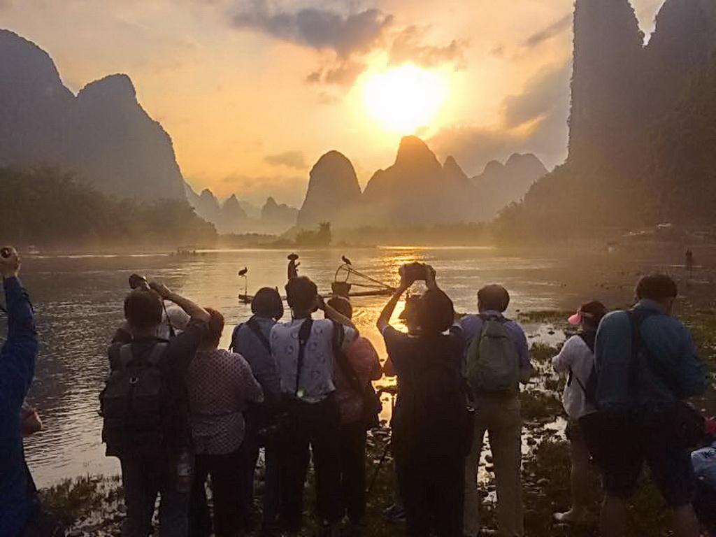 2017年6月3日新加坡摄友桂林三江风光民俗摄影团花絮