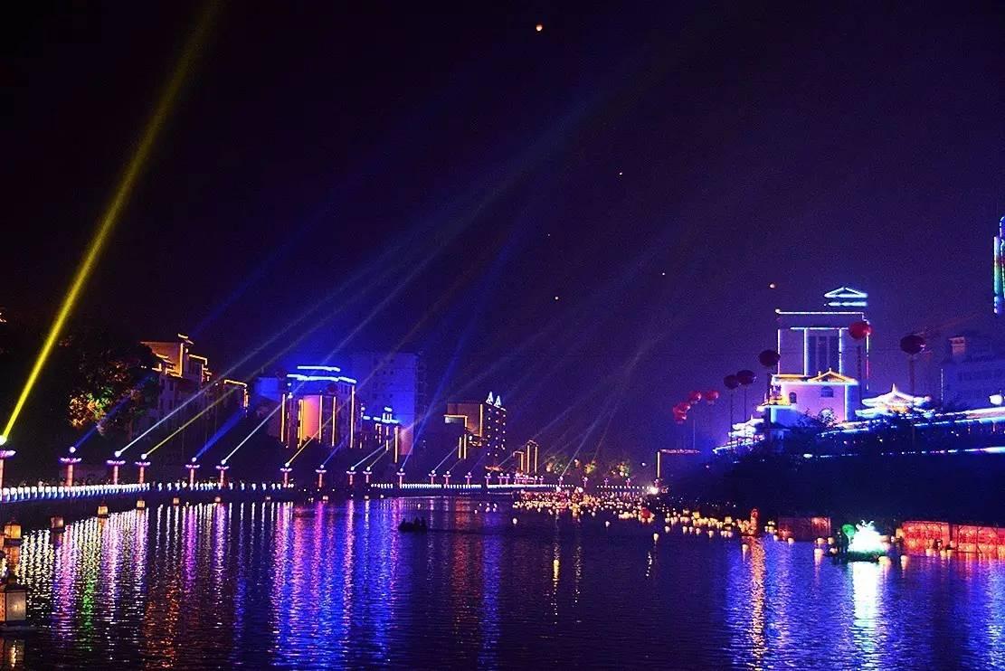 资源河灯节