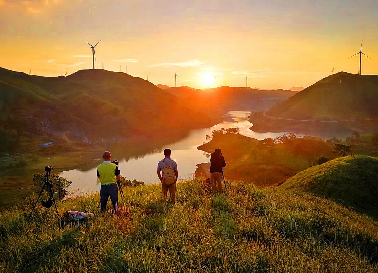 南山牧场和紫金山