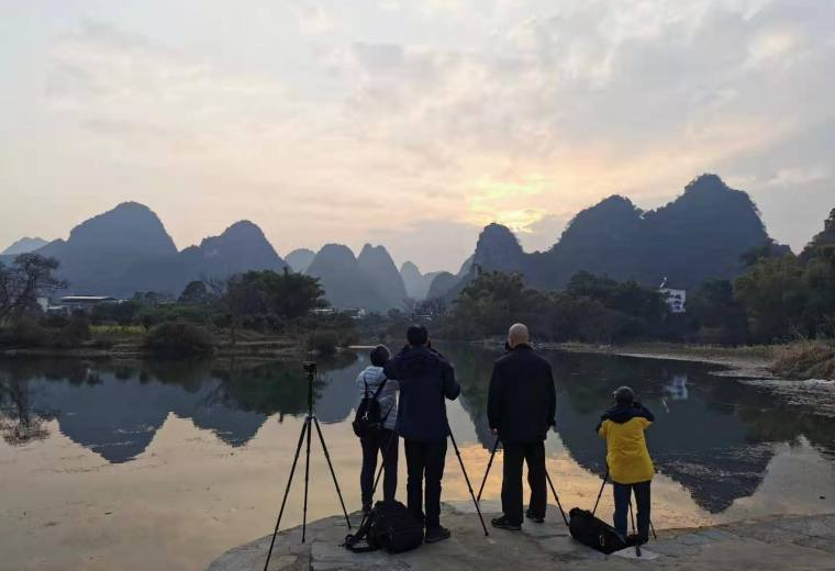 2021年1月22日漓江风光、兴坪渔火专业摄影团