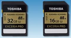 最高260MB/秒 东芝宣布发售最新型SDHC卡